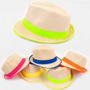 A1279 Sommer, luftige Hüte, Neon Look