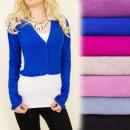 wholesale Pullover & Sweatshirts: C17181 Autumn,  Romantic Sweater, Bolero, Frills