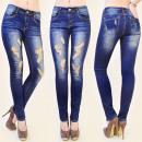 wholesale Jeanswear: B16475 glamorous jeans, HOLE