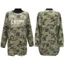wholesale Fashion & Apparel: Women's Sweatshirt, Loose Oversize, Angel, M-3