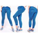 Großhandel Hosen: B16791 Damen Jeans, Übergröße, Blau