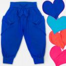 Großhandel Kinder- und Babybekleidung: A19139 Mädchen Haremas Pants, Volant, 4-12