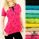 wholesale Fashion & Apparel: BI481 Summer  Blouse, Golden  Slider, Swallow ...