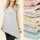 Großhandel Fashion & Accessoires: LOOSE TUNIKA 3946,  Kleid, DECORATIVE jets MIX