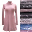 Großhandel Kleider: Kaschmirkleid, S-XL, Tunika für den Winter, D14125