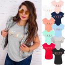 groothandel Kleding & Fashion: H116 Katoenen  blouse, dameshemd, gouden mode