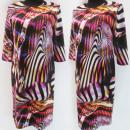 Großhandel Kleider: D4044 Kleid, Made in Poland, Plus Size 44-52