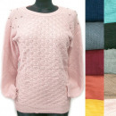 wholesale Pullover & Sweatshirts: Classic Loose Sweater For Women, Pearls, R127