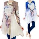 Großhandel Fashion & Accessoires: TUNIKA, Kleid,  Impressum In Federn, Jets