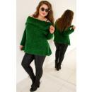 PL8 Sweater Spanish, Oversize, Bottled Green