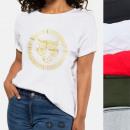 wholesale Fashion & Apparel: Women shirt, T-Shirt , Golden Tiger, M-XL, N116