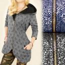 wholesale Pullover & Sweatshirts: BI450 Long and  Loose Sweatshirt, Hoodie