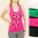 groothandel Kleding & Fashion: C11167 CLASSIC  TOP, blouse, riemen MIX