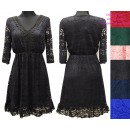 Großhandel Kleider: Spitzenkleid, ,Guipure-Ausschnitt M-3XL, BI819