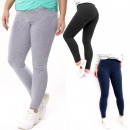 wholesale Sports & Leisure: Leggings for women, Cotton, L - 5XL, 5466