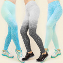 3916 Leggings,  trousers FITNESS, BEAUTIFUL OMBRE M