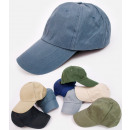 wholesale Fashion & Apparel: C1907 Classic Baseball Cap, Smooth