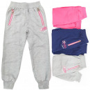 wholesale Childrens & Baby Clothing: Cotton Sporty Pants For Girls, 4-12 A19279