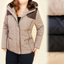 wholesale Coats & Jackets: A28162 Warm, Women  Jacket, Large Sizes, Fur