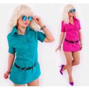 Großhandel Fashion & Accessoires: BB193 Elegante Tunika, Kleid, Hemdenstil