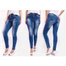 B16710 Jeans, Aufnäher mit Sonnenschirm