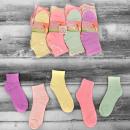 4339 Cotton Women Socks, Juicy Colors