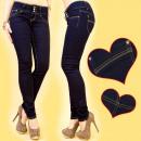 wholesale Jeanswear: 3686, TROUSERS JEANS PEN, 3 TONGUE