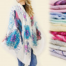wholesale Scarves & Shawls: FL113 BEAUTIFUL  SCARF, colorful birds MIX