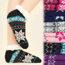 wholesale Shoes: 4172 Winter Socks,  ABS Slippers, Fur, Scandi