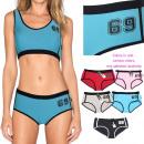 Großhandel Sportbekleidung: Damen-Sport-Set, 2 Stück, L-XXL, 5934