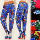 wholesale Fashion & Mode: 4108 LOOSE PANTS  HAREM, WIDE BELT, SPRING FLOWERS