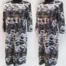 Großhandel Kleider: D4045 Kleid, Made in Poland, Plus Size 44-52