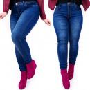 Großhandel Jeanswear: B16641 Damen  Jeans, Große  Größen, ...