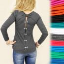 grossiste Vetement et accessoires: C1189 LOVELY TOP, BLOUSE, arcs DIVINE, COULEURS