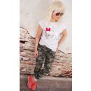 hurtownia Fashion & Moda: K510 Bawełniana  Bluzka, T-Shirt, Happy Bride