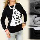 wholesale Childrens & Baby Clothing: K191 COTTON  SWEATSHIRT,  Imprint: I DO WHAT ...