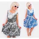 Großhandel Kleider: C17495 Romantisches Kleid, Spitze und ...
