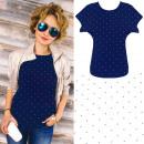 Großhandel Shirts & Tops: 4644 Baumwollhemd, Oberteil, Bluse, Punkte