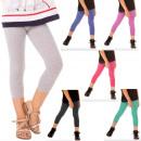 Großhandel Fashion & Accessoires: Kurze Leggings für Mädchen 3/4 2-8 Jahre, 6528