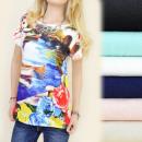 ingrosso Ingrosso Abbigliamento & Accessori: C22107 LOOSE  Tunica, OVERSIZE, PAESAGGIO COLOR