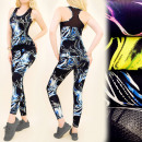 C17156 Fitness Set Top + Leggings, Sport Set