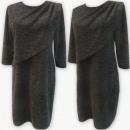Großhandel Kleider: D4007 Kleid, Made In Poland, 44-52, Schwarz