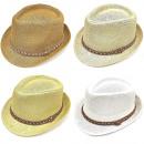 nagyker Ruha és kiegészítők: Nyári strand kalap szalaggal A18109
