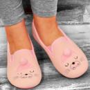 wholesale Shoes: 4331 Charming Ladies Ballerina Slippers: Kitten