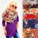 wholesale Fashion & Apparel: FL702 Spring Chimney, Large Scarf Pattern: ...