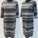 Großhandel Kleider: D4035 Kleid, Made in Poland, Plus Size 44-52