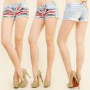 ingrosso Jeans: B16515 cassaforma  Short Jeans, Bandiera del Regno