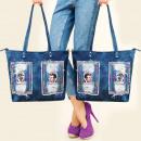Großhandel Handtaschen: T38 Schöne Tasche, Jeans, Trendy Patches und Paill