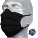 wholesale Facial Care: Protective face mask, black, rubber.