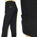 Großhandel Hosen: F567, Hose, schwarz, groß